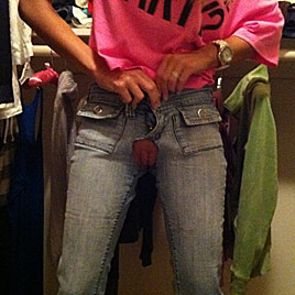 crotchless jeans